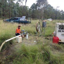 Bore flow testing & Bore Pump Installation in Kingaroy - South Burnett by Burnett Water Services