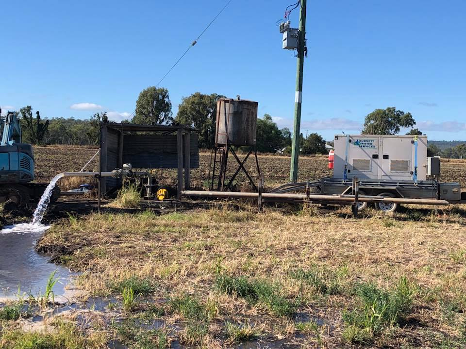 Bore Water Flow Testing