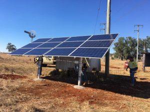 Solar Stock Water