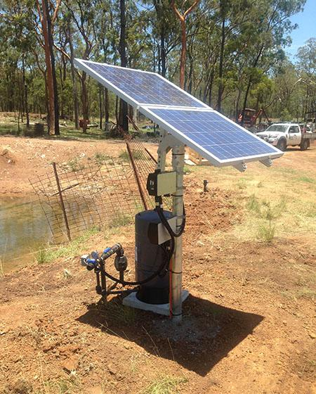 Solar Stock Water Pump